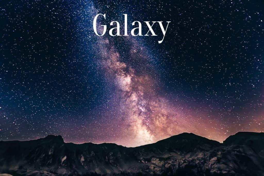 Travel Words Galaxy
