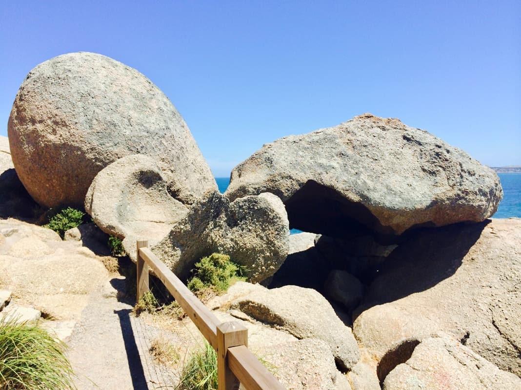 Umbrella Rock Granite Island Victor Harbor