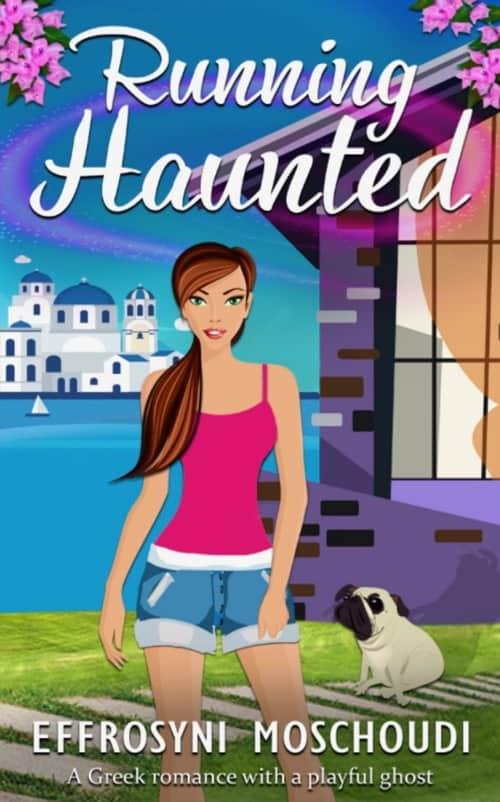 Greek Romance book Running Haunted