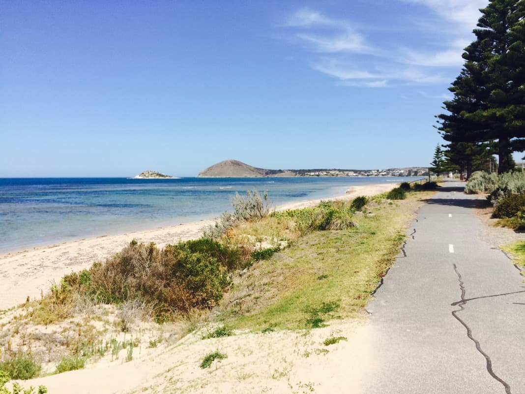 Pathway to The Bluff in Victor Harbor