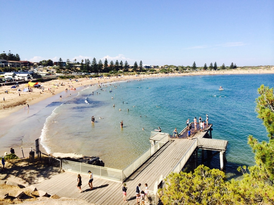 Port Elliot Jetty and Beach