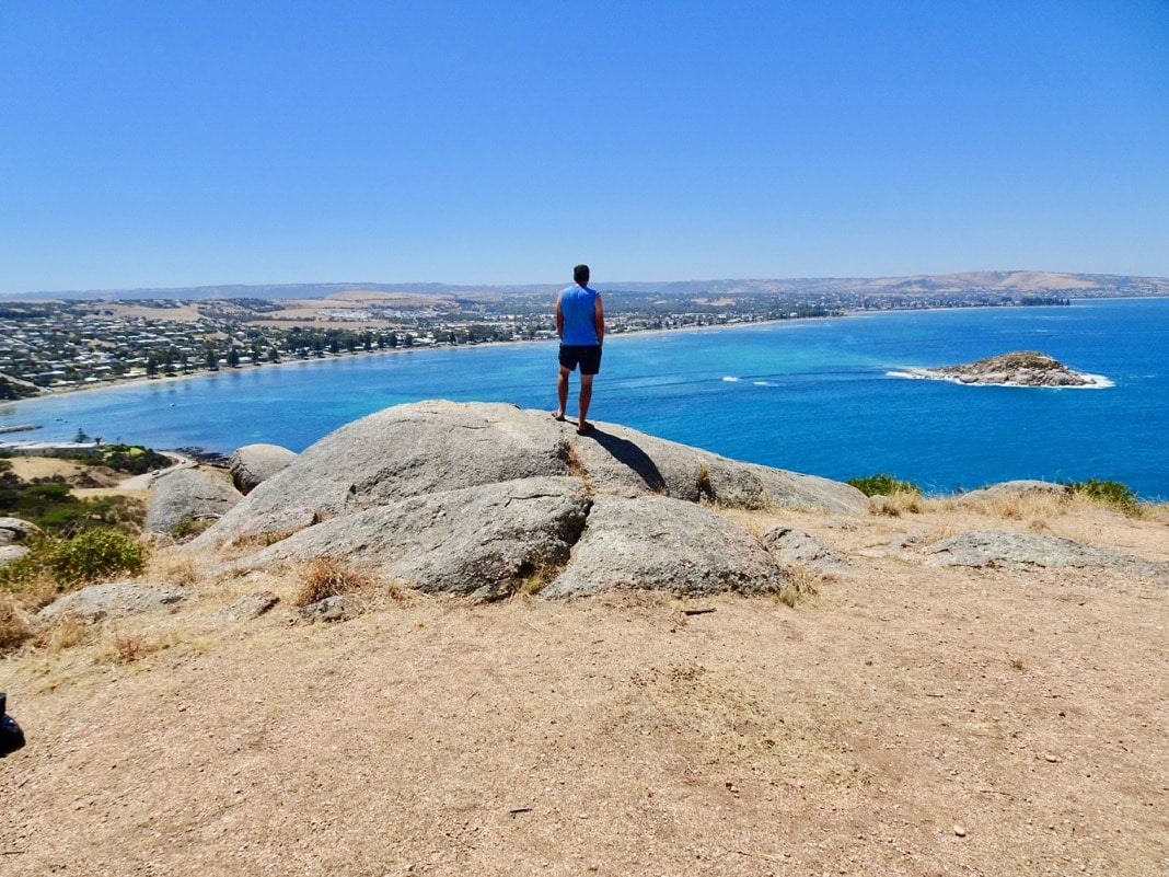 Standing on The Bluff in Victor Harbor