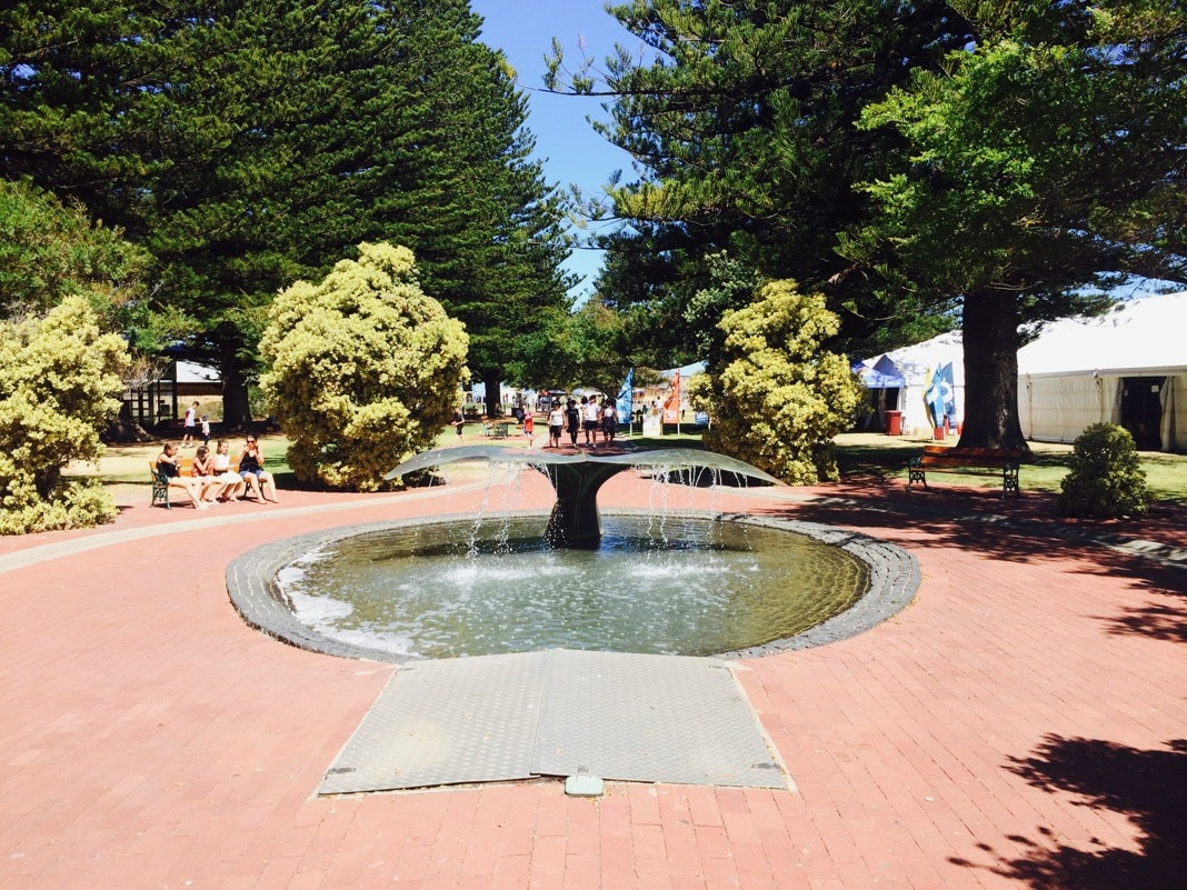 Whale Fountain Victor Harbor