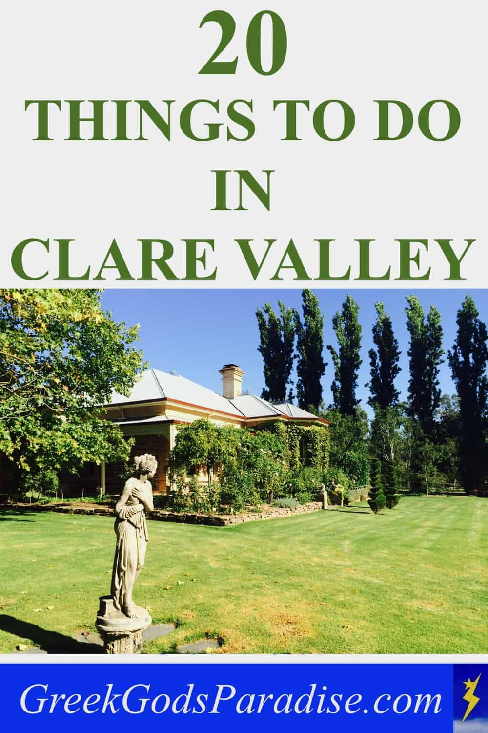 20 Things to do in Clare Valley