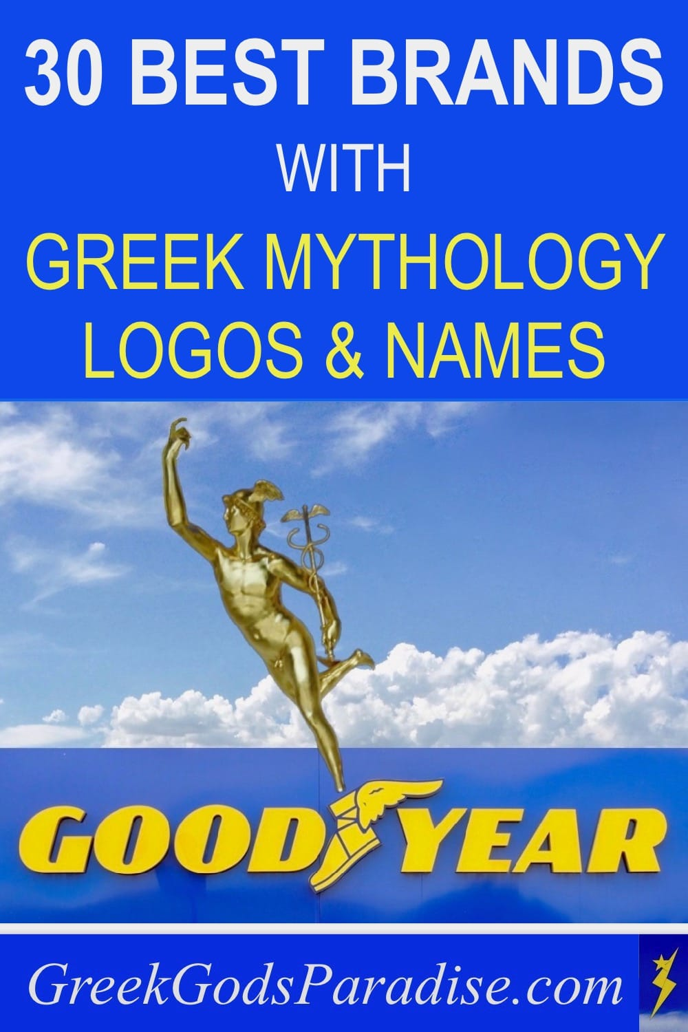 30 Best Brands with Greek Mythology Logos and Names