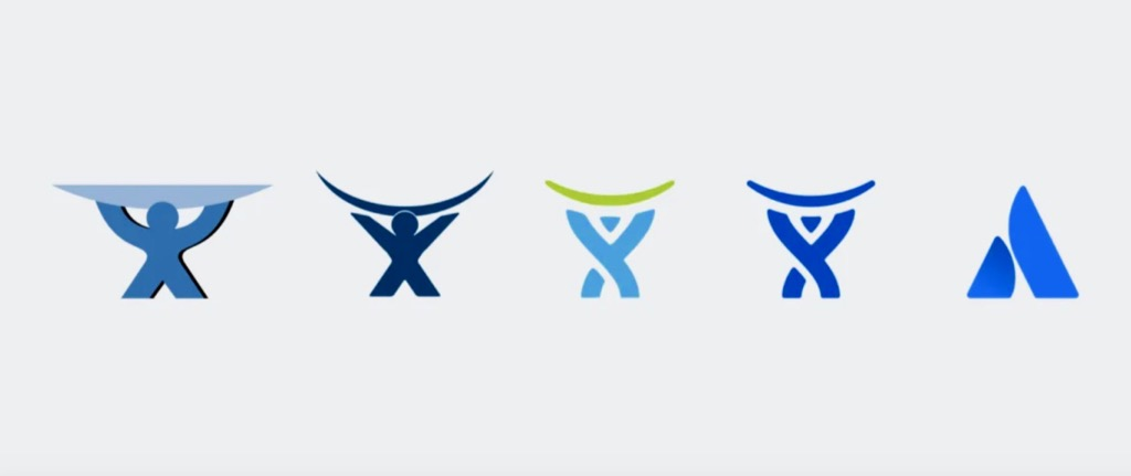 Atlassian Logos Based on the myth of Atlas