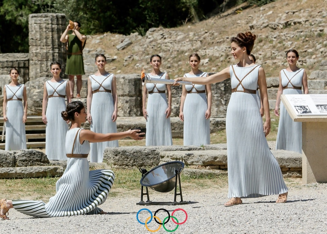 Brands influenced by Greek Mythology Olympic Games