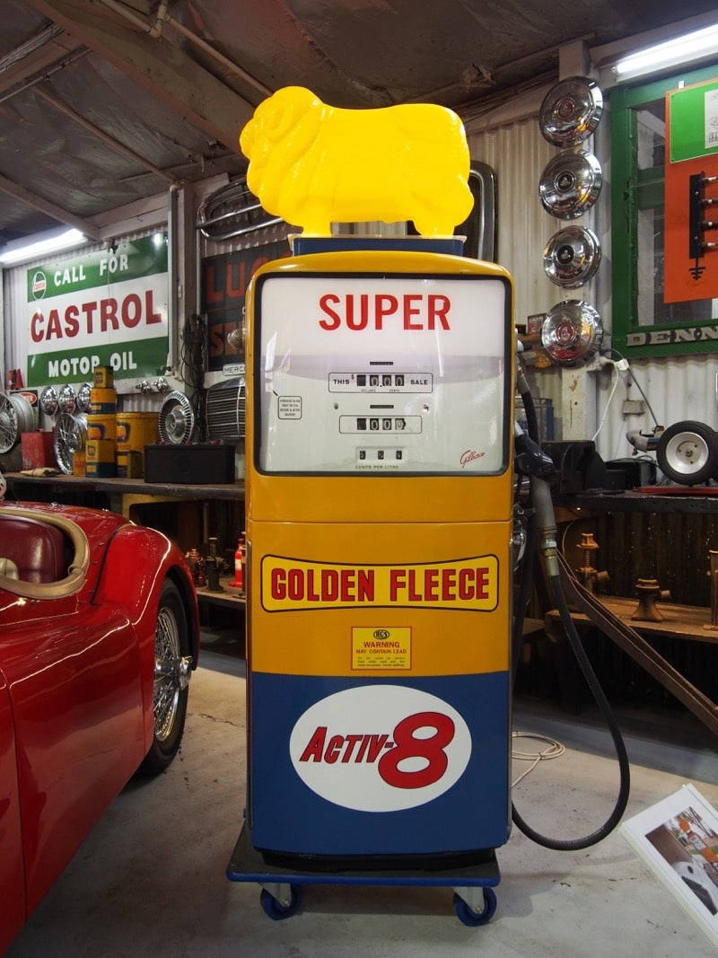 Golden Fleece Australian brand of petroleum products and service stations