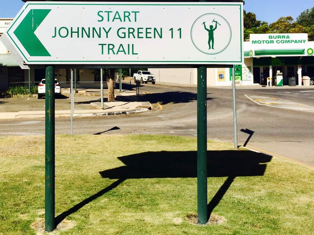 Johnny Green Trail Sign