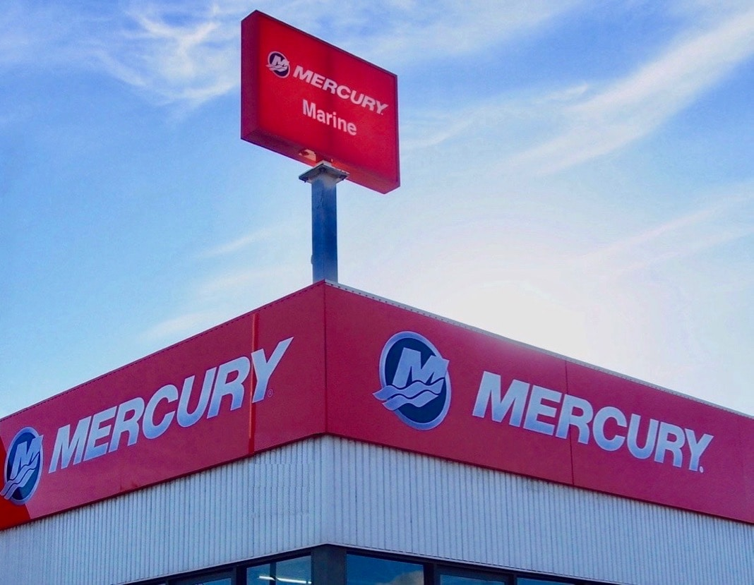 Mercury Marine Logo and Signs