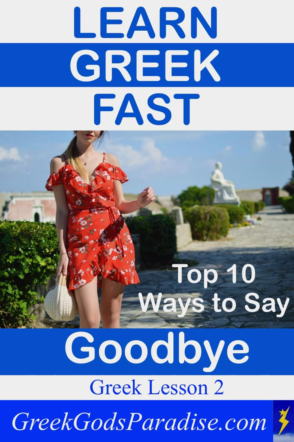 Ways to Say Goodbye in Greek Lesson
