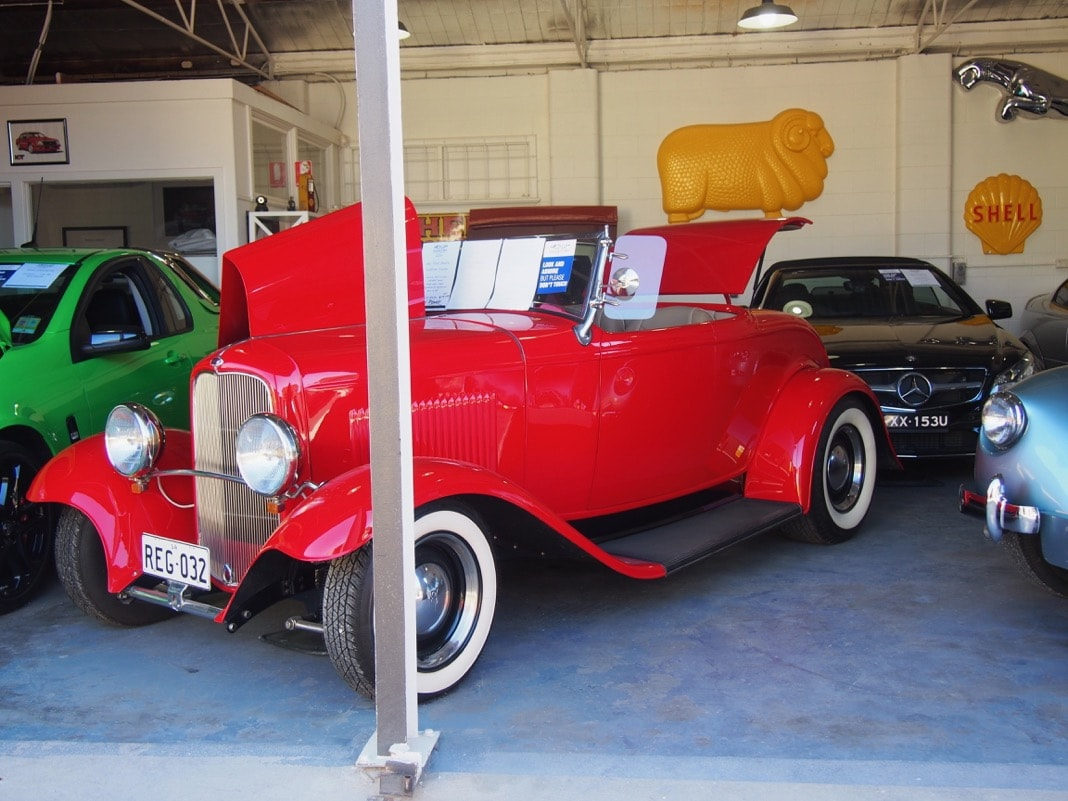 Cars at Collectable Classics Strathalbyn
