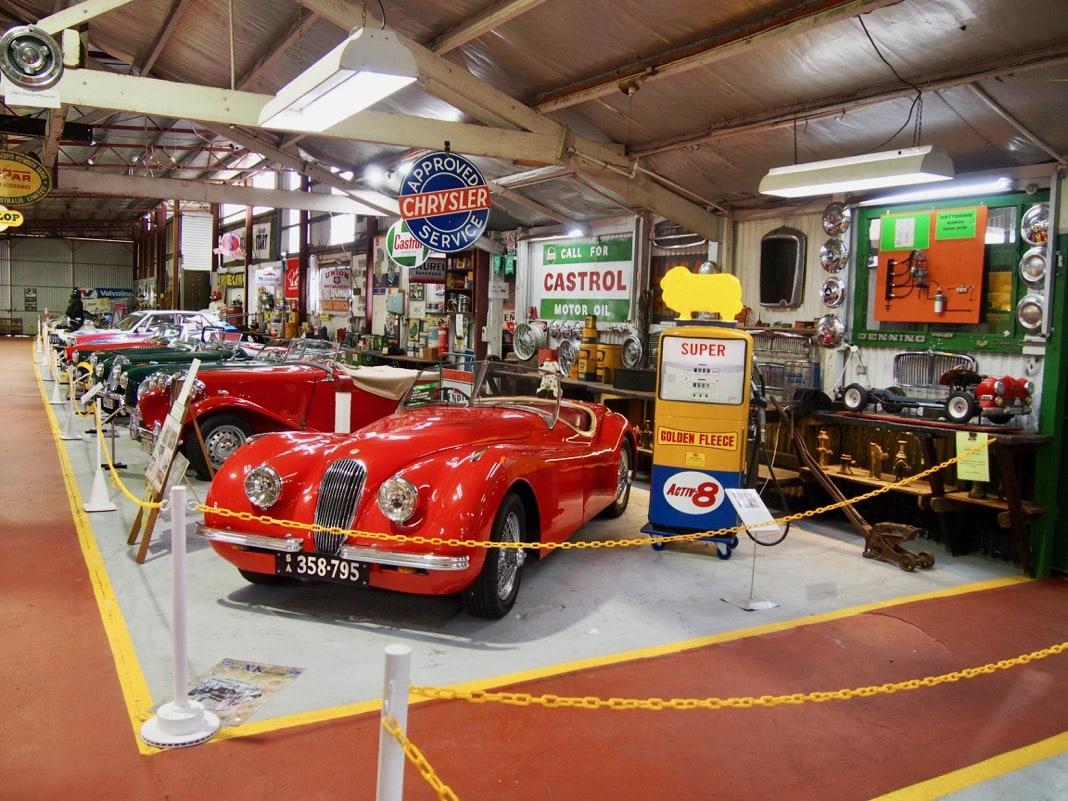 Gilberts Motor Museum Strathalbyn