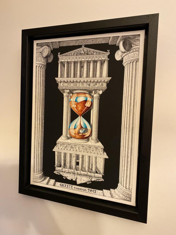 Greece through Time Artwork