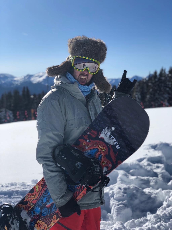 Jeff Murray Snowboarding