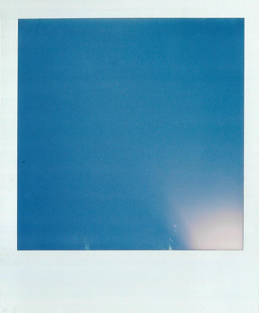 Polaroid SX-70 Photo 3 Sky
