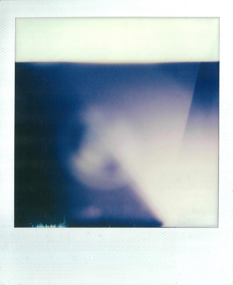 SX-70 Film Weird Photo