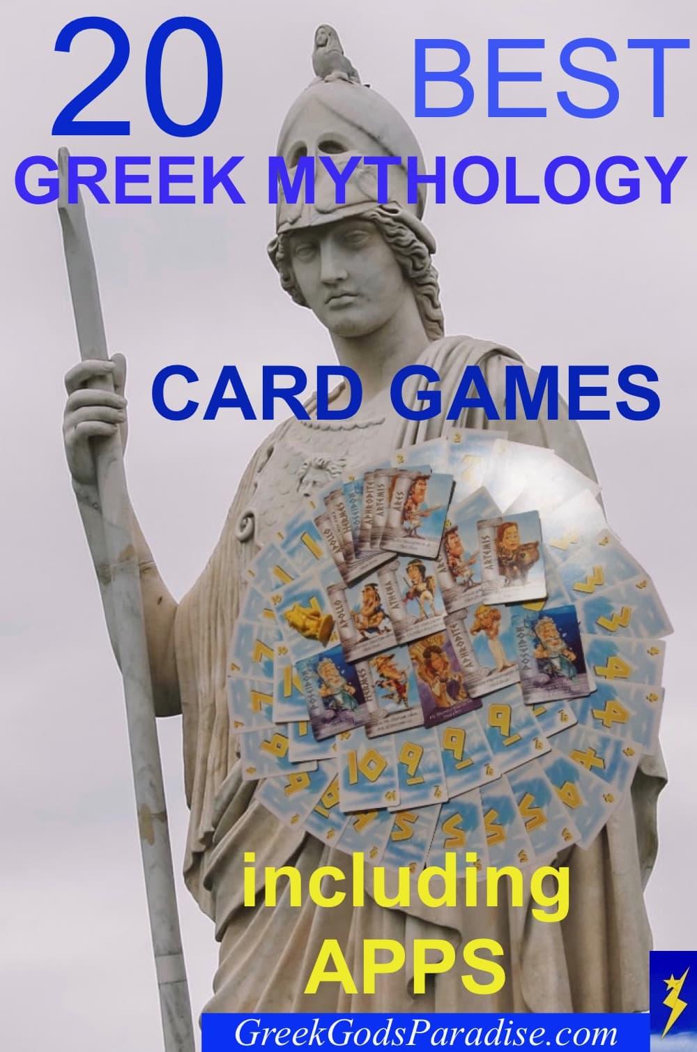 Best Greek Mythology Card Games and Apps